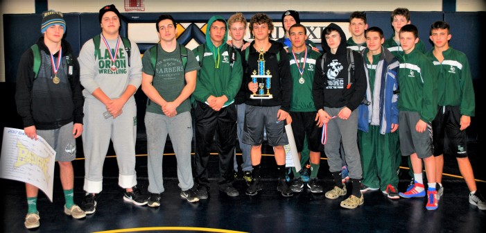 Dragon Grapplers Take 1st place at Bad Axe Invitational