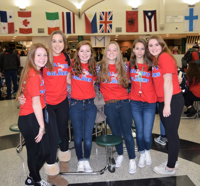 LOHS students Cell Out for Soldiers