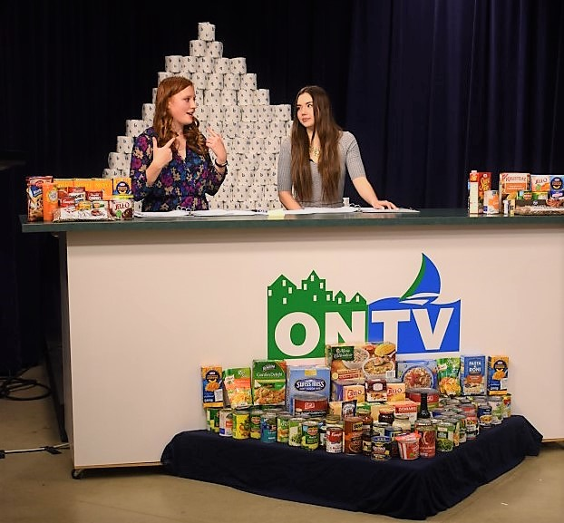 ONTV hosts another successful 5 or 5 food drive