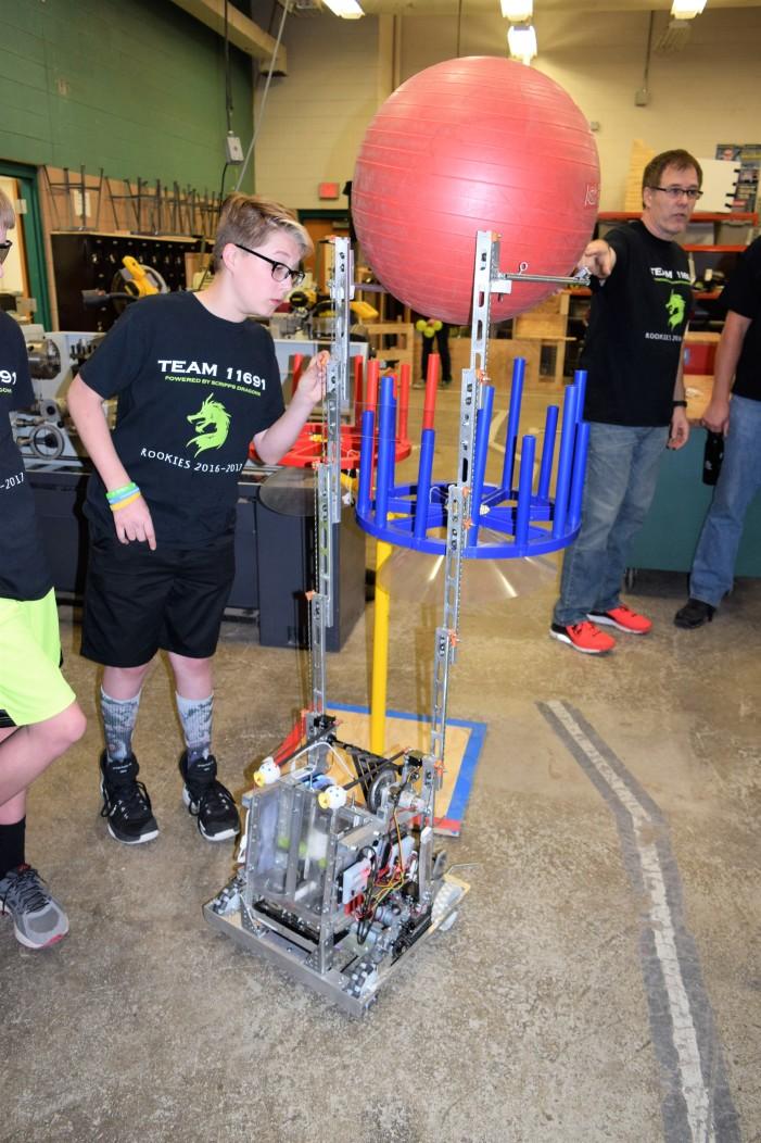 Scripps Middle School Robotics Team 11691 heads to World Championship