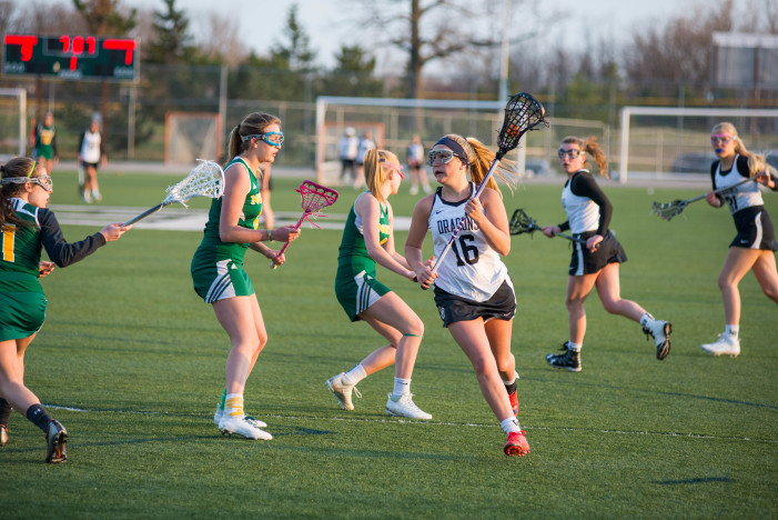 Girls Lacrosse team losses first league game to Seaholm