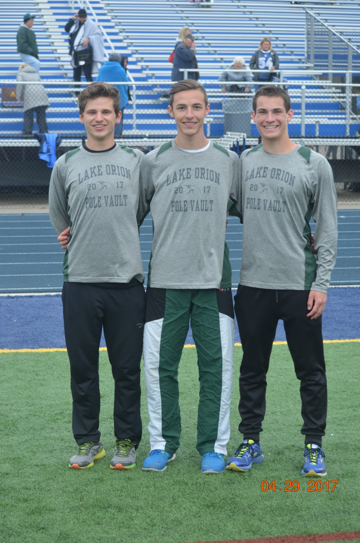 LOHS boys track places second of 19  at the Ashley Relays on Saturday