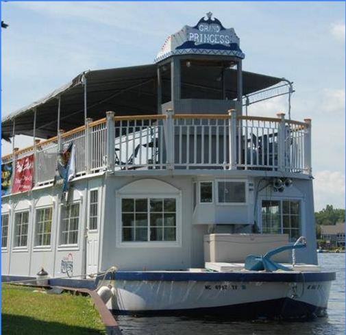 Lake Orion Fireworks Association meets 'The Mask' during riverboat cruise on Lake Orion in July