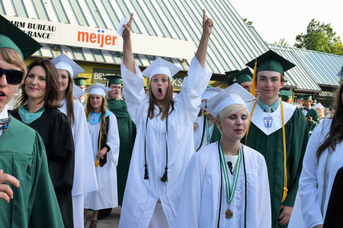 Lake Orion High School Class of 2017 Commencement Ceremonies  June 14