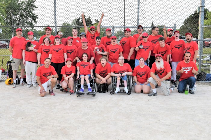 Orion Hawks Adaptive Softball team hits it out the park with 28-1 record