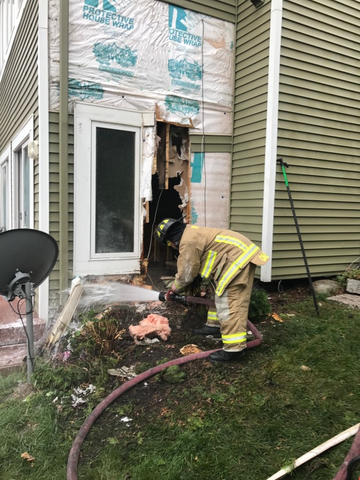 Orion Twp. Fire Dept. prevents Keatington condo fire from spreading with 'aggressive attack'