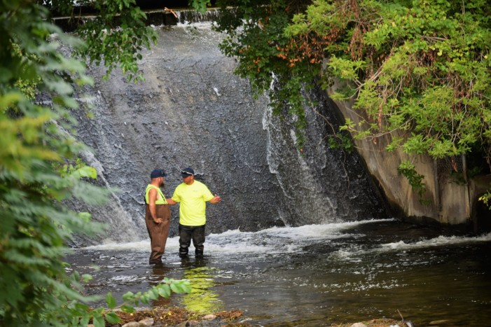 Paint Creek dam to undergo immediate repairs