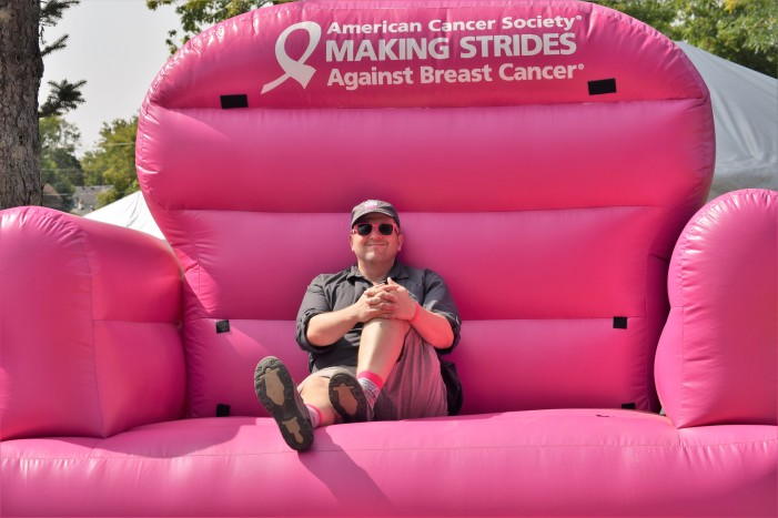 LO's Matt Pfeiffer is 'Making Strides' against breast cancer one pink day at a time