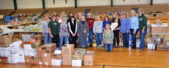 Lions Christmas Baskets to help 275 Orion area families, seniors