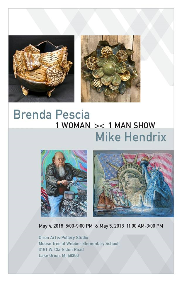 Art Studio host 'One Woman, One Man' art show May 4-5