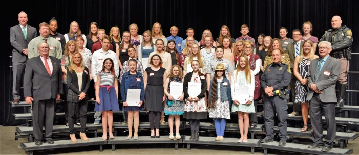 OAYA honors student volunteers during Youth Awards ceremony