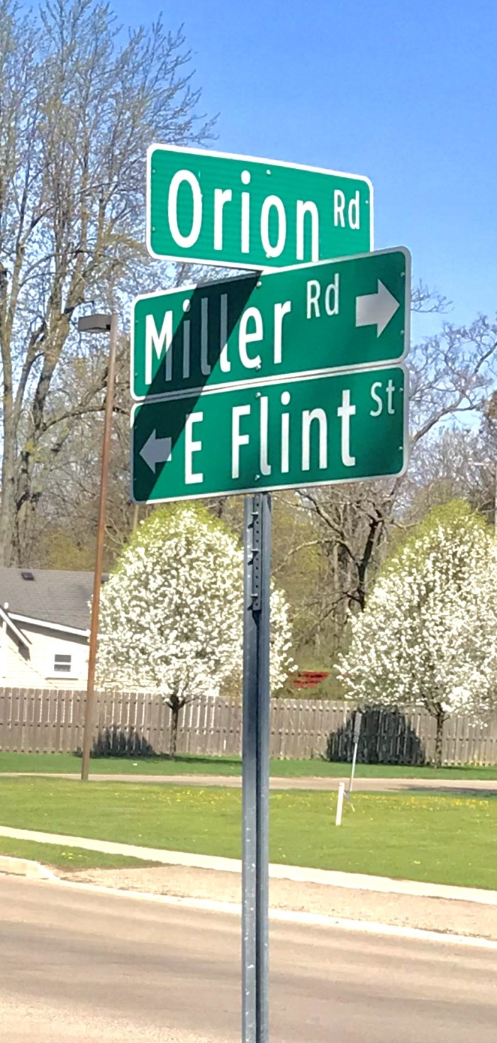 Residents angry over proposed Miller/Orion/Flint roundabout