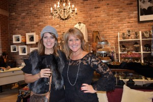 Deena Centofanti (left) and Marcella Costin enjoying the VIP party at Simply Marcella's on Broadway Street.