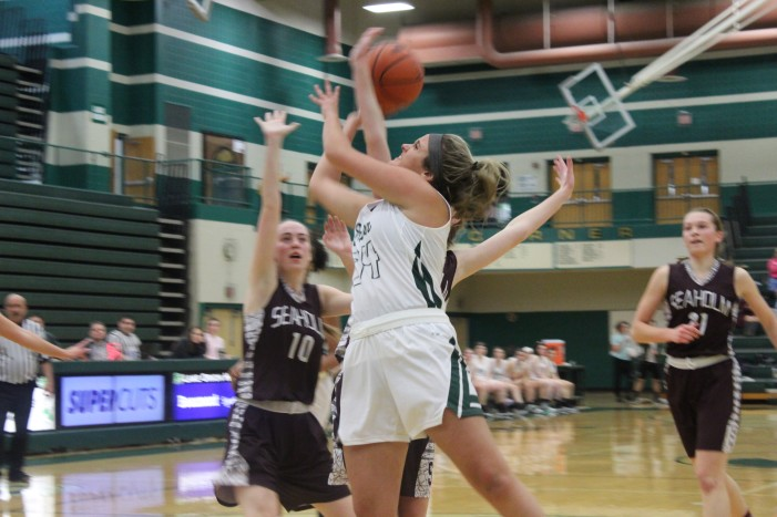 LOHS girls basketball team kicks off season with big win