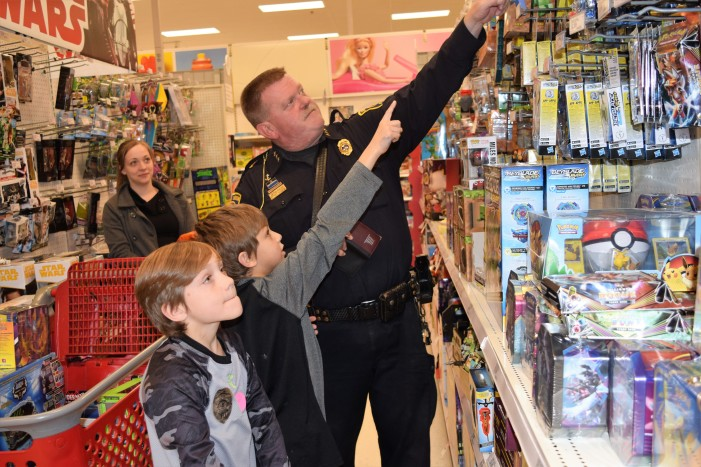 Shop with a Hero: 110 kids get a Merrier Christmas