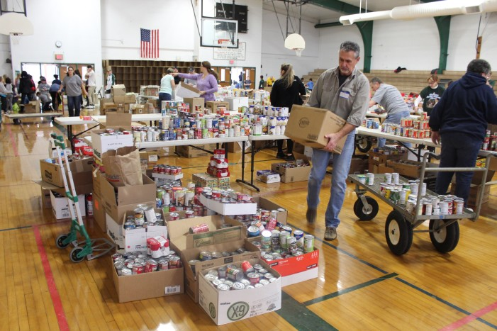 Lions Club ensures Happy Holiday's for all with Christmas baskets
