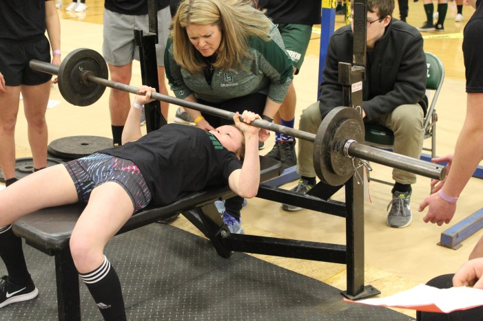 Lake Orion hosts Regional powerlifting competiton