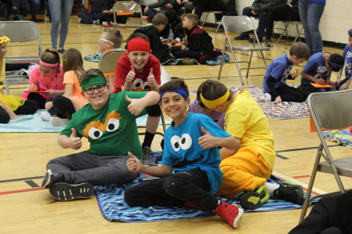 Lake Orion fifth graders participate in annual Battle of the Books competition on March 23