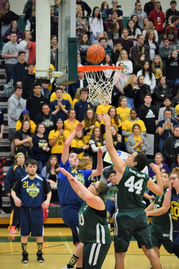 LO defeats Oxford 32-20 in Special Olympics basketball game