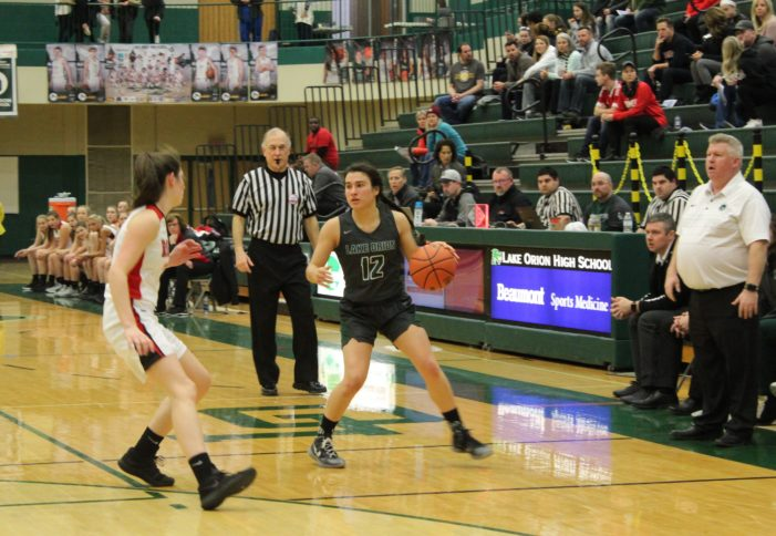 Lake Orion's Girls Basketball season ends in heartbreaking loss to Romeo