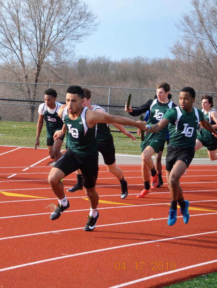 LO track team crushes Rochester High to remain undefeated in OAA