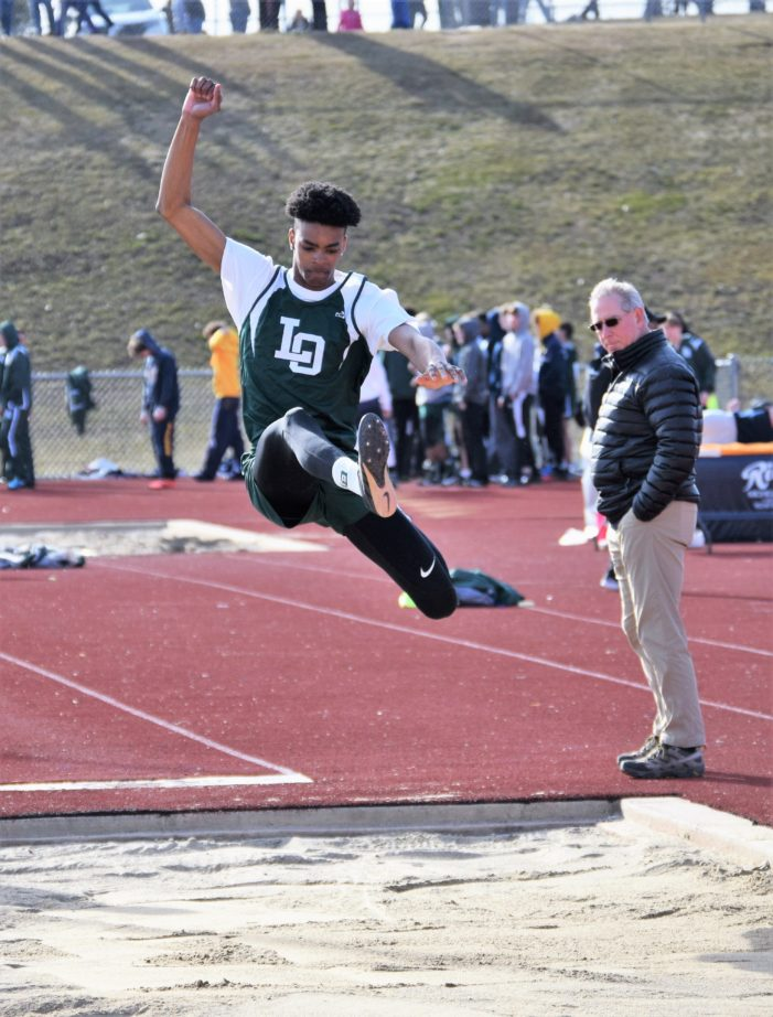 Dragon boys track team dominates Oxford, looks toward 8th league championship