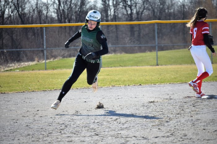 Lake Orion softball team starts off season with 7 game winning streak