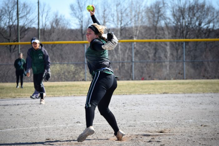Dragons softball remains undefeated after 10 games