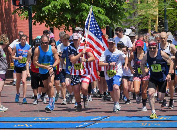 Sport the red, white and blue for the Orion Veterans Memorial Day 5k