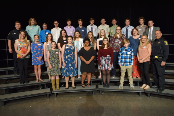 OAYA Youth Awards honor students' committment to helping others