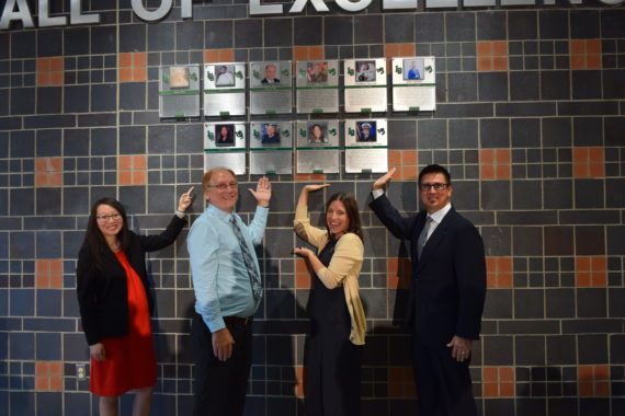 Wall of Excellence recognizes outstanding Dragon grads