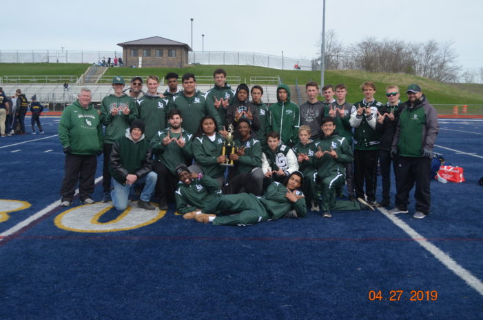 Boys track team takes 1st place at Oxford Invitational