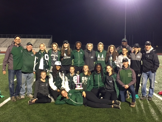 Girls track finishes season undefeated in OAA Red for 3rd year in a row, finishes 1st in New Balance Invitational