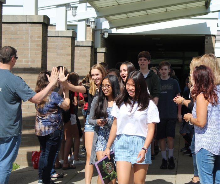 Scripps Middle School celebrates last day of school