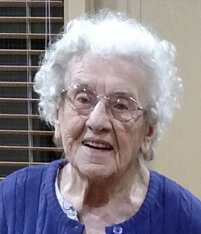 Hornbeck, Elsie; 103, formerly of Oakland Township