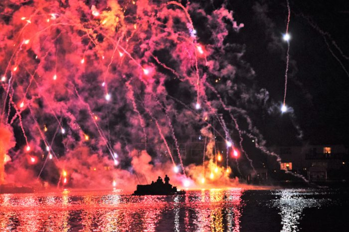 Lake Orion fireworks show needs support to go from red to black