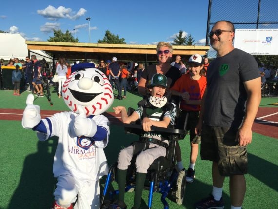 Miracle League Field opens with tremendous community fanfare