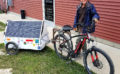 Solar Dave goes for a bike ride.