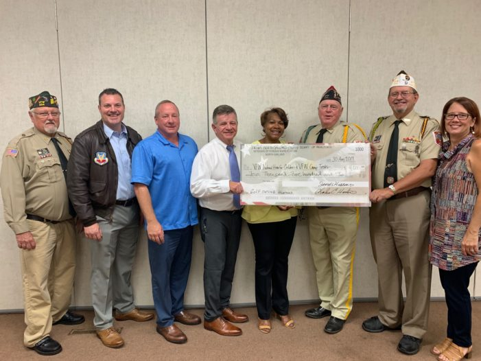 VFW Post 334 receives $4,500 donation from North Oakland Board of Realtors