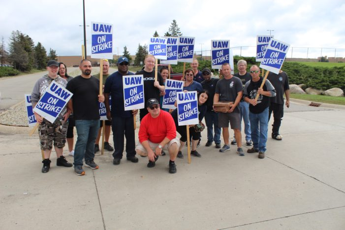 UAW strikes, picketers show solidarity at Orion Assembly