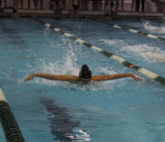 LOHS girls swim and dive looks to 'battle' for division title in OAA White