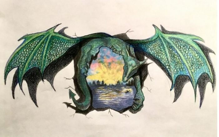 Dragon mural design gets nay vote from village planning comm.