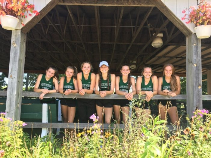 Girls cross country compete in Holly Invitational
