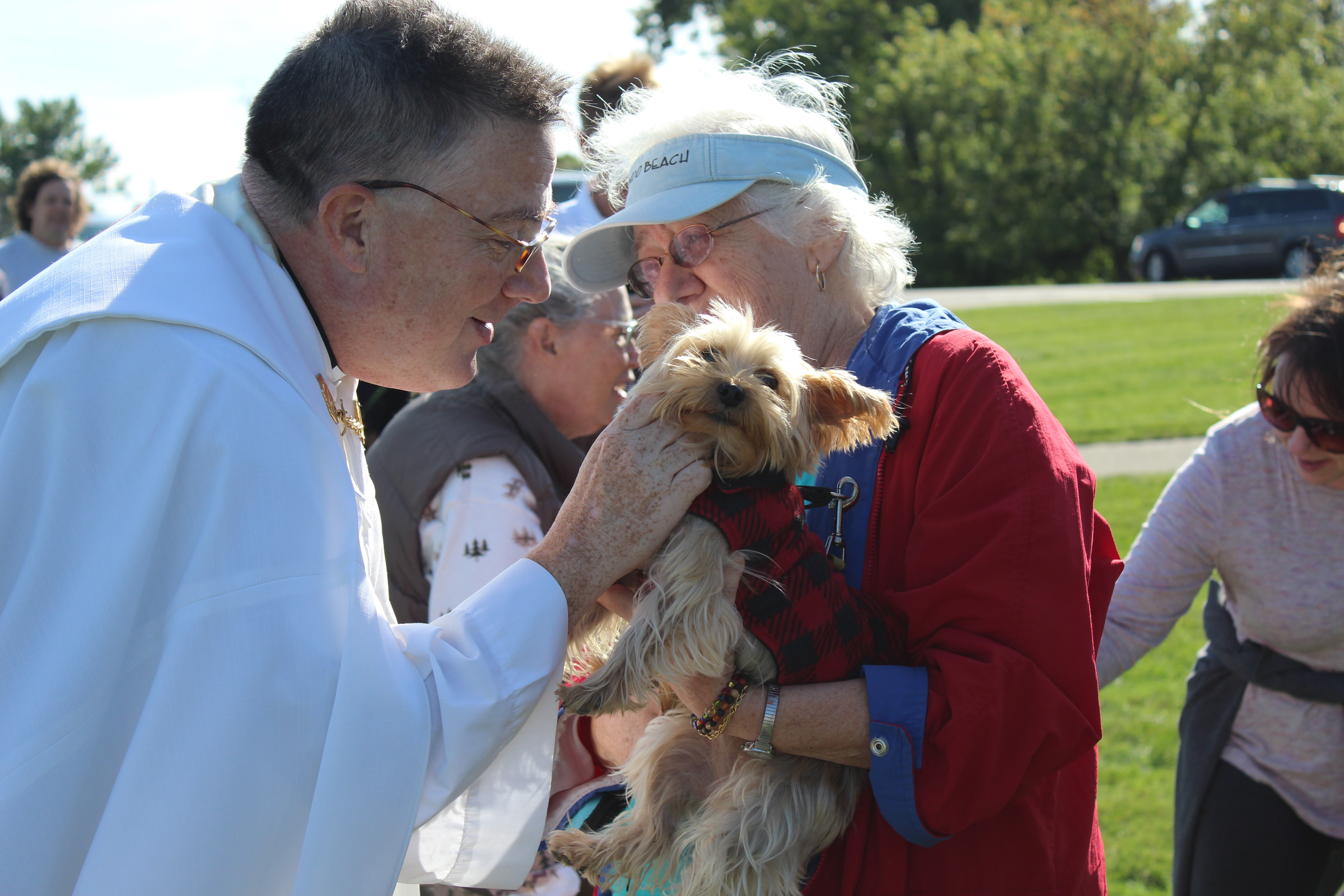 St. Joseph Church blesses all creatures, great and small