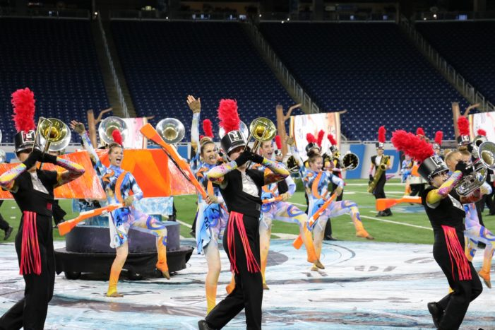 LOHS Marching Band ranked among the state's best