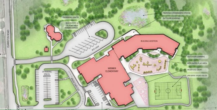 GMB presents site plans for Webber Elementary and Early Childhood Center to LOCS board