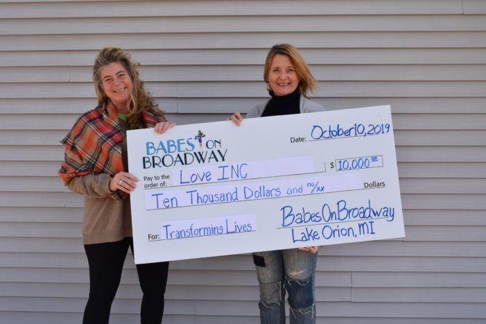 Babes on Broadway raises $10,000 for Love INC