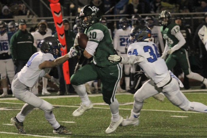 Dragons' football season ends with District Championship loss to Eagles