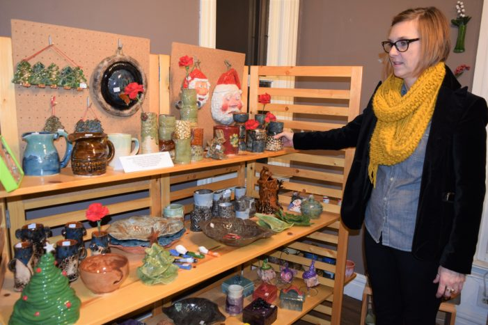 Artistic flair highlights this year's Holiday Market at the Art Center