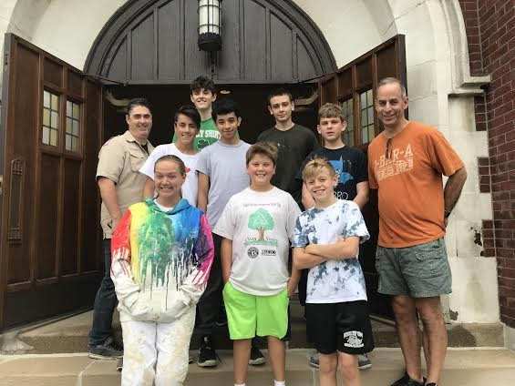LOHS sophomore completes Eagle Scout Project